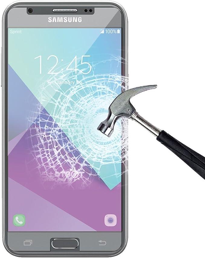 Nunca estrellas Samsung Galaxy J3 emerge templado cristal ...