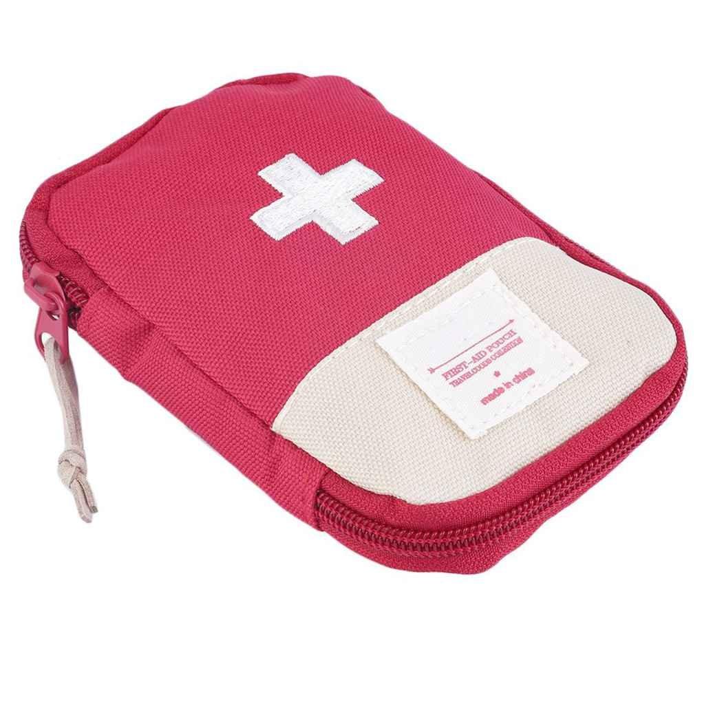 Lorjoy Bolso de la Caja del Kit Portátil Bolsa de Primeros Auxilios de Rescate de Emergencia al Aire Libre al Aire Libre Camping Inicio Supervivencia