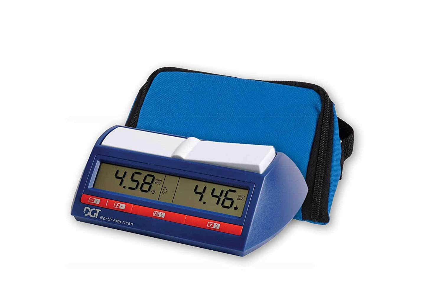 DGT North American Digital Chess Clock with Wedge Bag