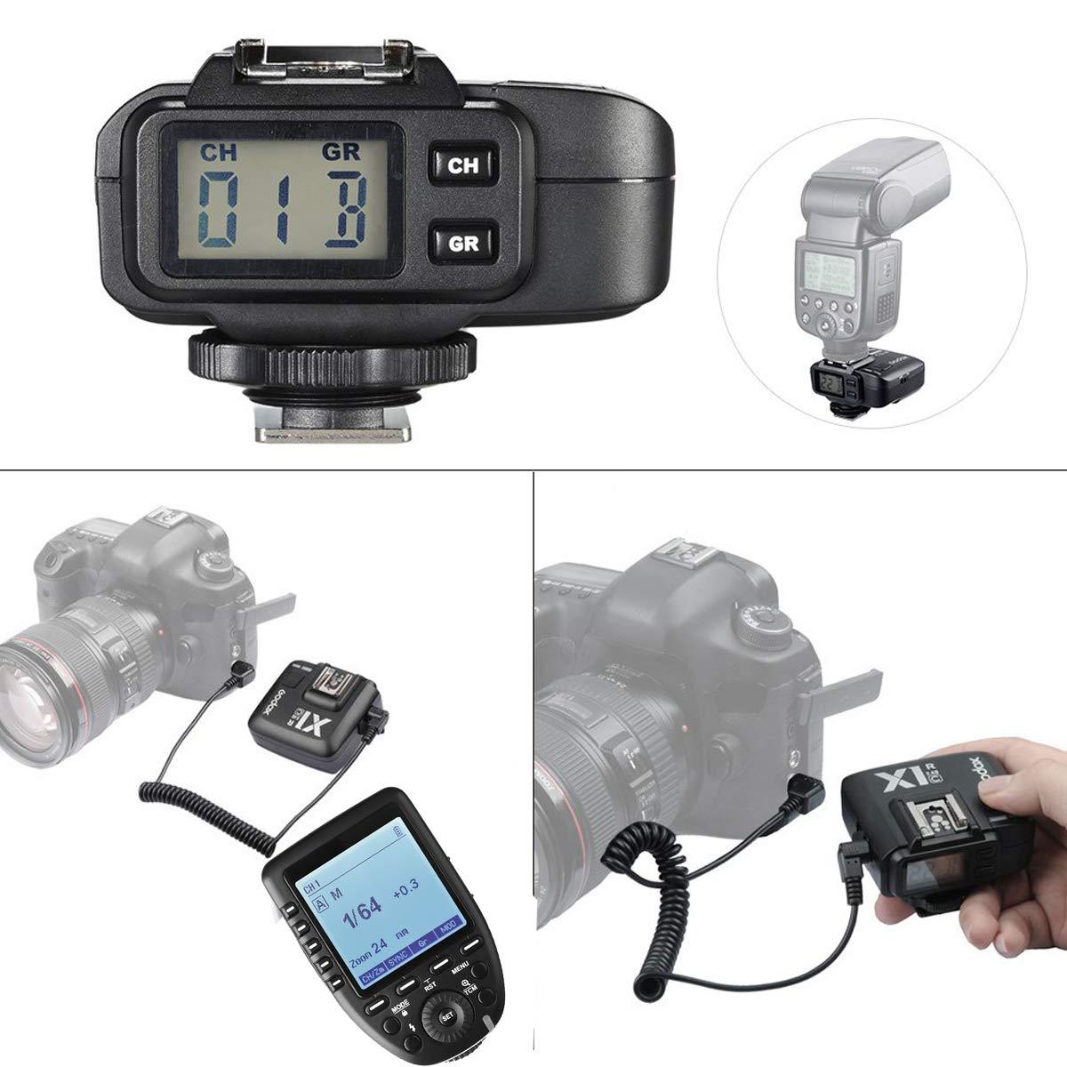 Electronics Remote Triggers ghdonat.com Godox Xpro-C 2.4G X System ...