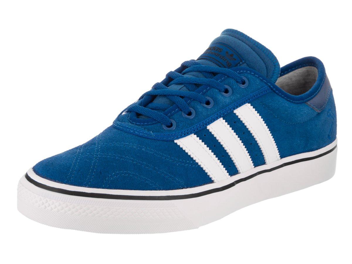adidas Originals Men's Adi-Ease Premiere Fashion Sneaker 10.5 D(M) US|Blue/Footwear White/Collegiate Navy