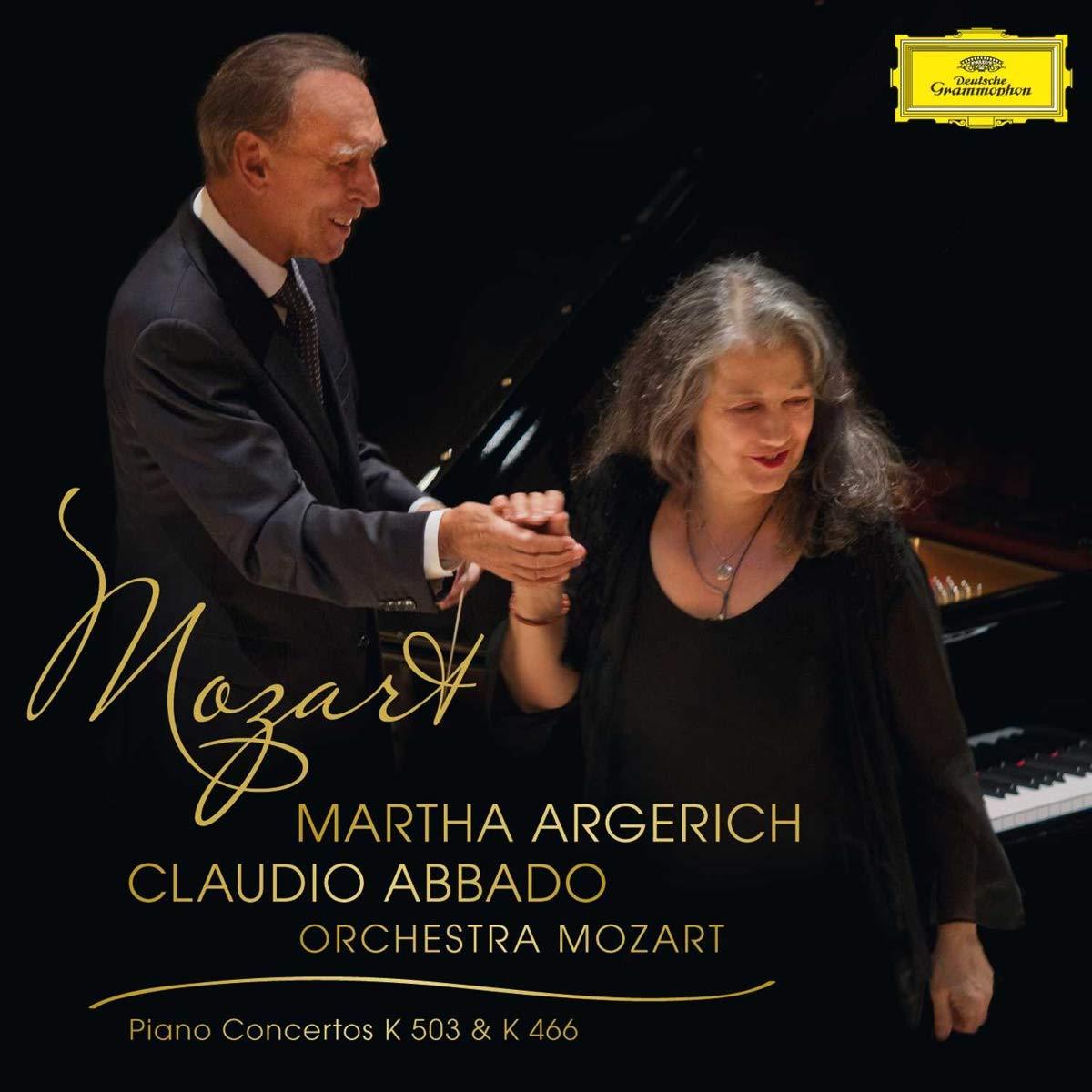 Mozart: Klavierkonzerte 20, KV 466 & 25, KV.503 - Martha Argerich, Wolfgang  Amadeus Mozart, Claudio Abbado, Orchestra Mozart: Amazon.de: Musik