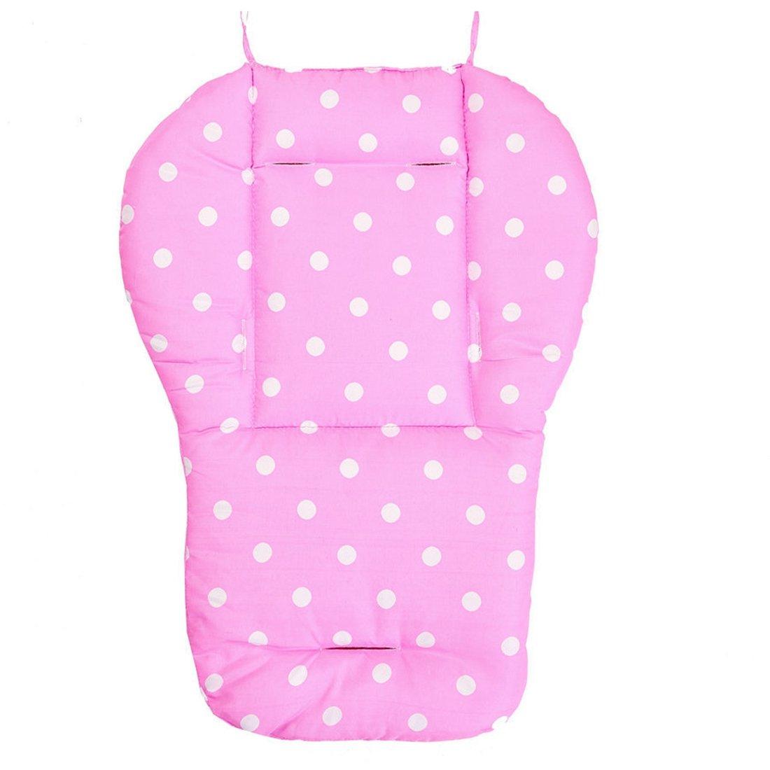 Freahap Baby Universal Stroller Pushchair Cushion Seat Pad Liner Mat Pink Hengfey