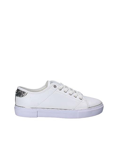Guess - Zapatillas de Material Sintético para mujer Blanco blanco 36 dXvGwvxMl