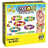 Toys : Creativity for Kids Emoji Bead Bracelet Craft Kit - Makes 5 Emoji Bracelets