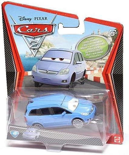 Amazon Com Disney Pixar Cars 2 Movie Die Cast No 45 Alex Vandel
