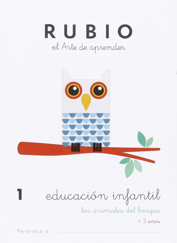 EDUCACIÓN INFANTIL 1: LOS ANIMALES DEL BOSQUE - 9788415971818 ...
