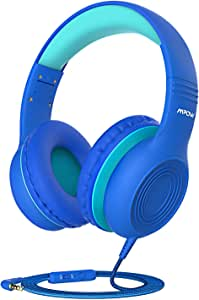 Mpow CH6 [2019 New Version] Kids Headphones Over-Ear/On-Ear, HD Sound Sharing Function Headphones for Children Boys Girls, Volume Limited Safe Foldable Headset w/Mic for School/PC/Cellphone