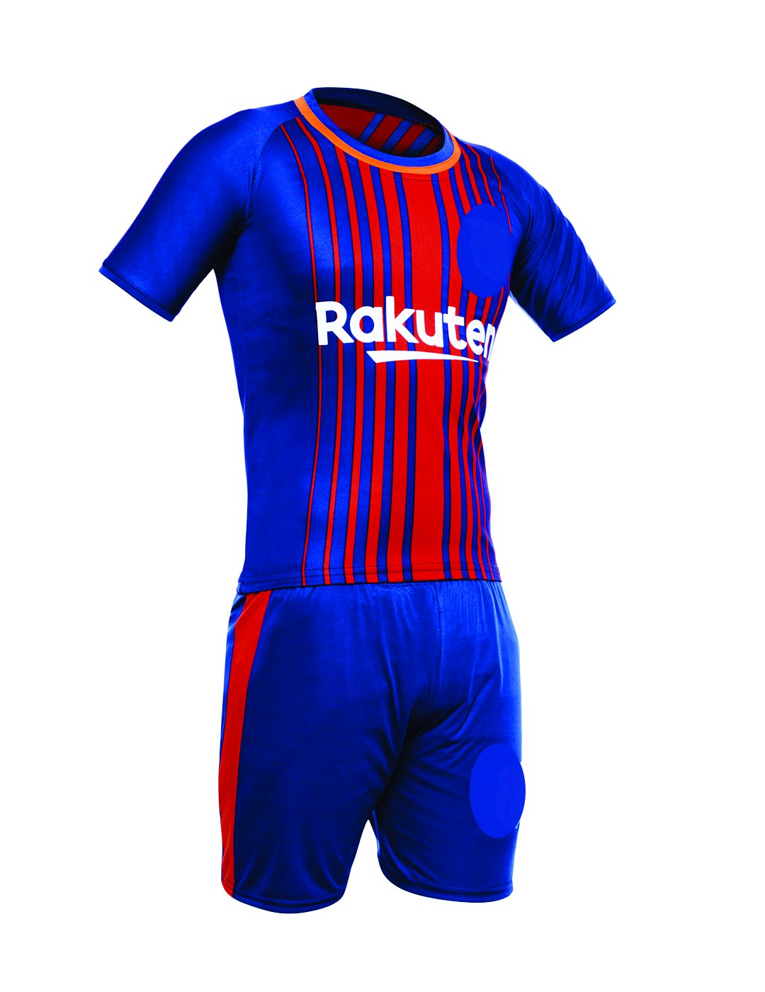 check out 55a8c 6ae7c Sportyway Kids Messi 10 FC Barcelona Football 2017/18 Jersey Set, 4-5 Years  - 28