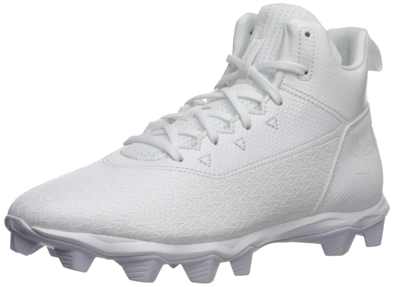 dd8a27cd7db4 Galleon - Under Armour Men's Hammer Mid RM Football Shoe, 100/White, 11 M US