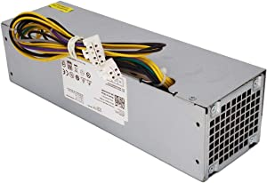 255W H255ES-00 YH9D7 Power Supply for Dell Optiplex 3020 7020 9020 Precision T1700 Small Form Factor (SFF) Systems R7PPW 3XRJ0 V9MVK FP16X T4GWM M9GW7 FN3MN H255ES-00 D255AS-00 D255E001L F255ES-00