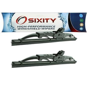 sixity Auto Parabrisas Limpiaparabrisas Frontal Mazda GLC: Amazon.es: Coche y moto