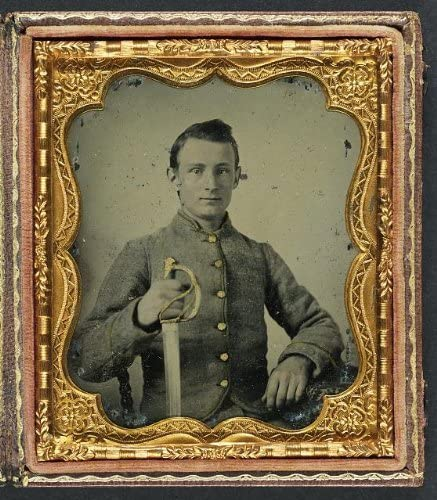American Civil War,Unidentified Soldier,Union Cavalry Uniform,LeFaucheux,c1861