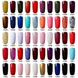 Vishine Soak Off UV LED Gel Nail Polish - Pick any 6 Colors - 15ml/bottle
