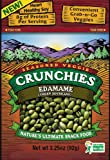 Crunchies Freeze-Dried Snack, Edamame (Green Soybeans), 3.25-Ounce Pouches (Pack of 6)