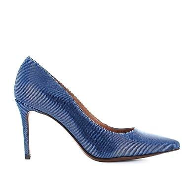 L Autre Chose Chaussures Femme Escarpins Canneté Bluette Printemps-Été 2018 a8f6df553589