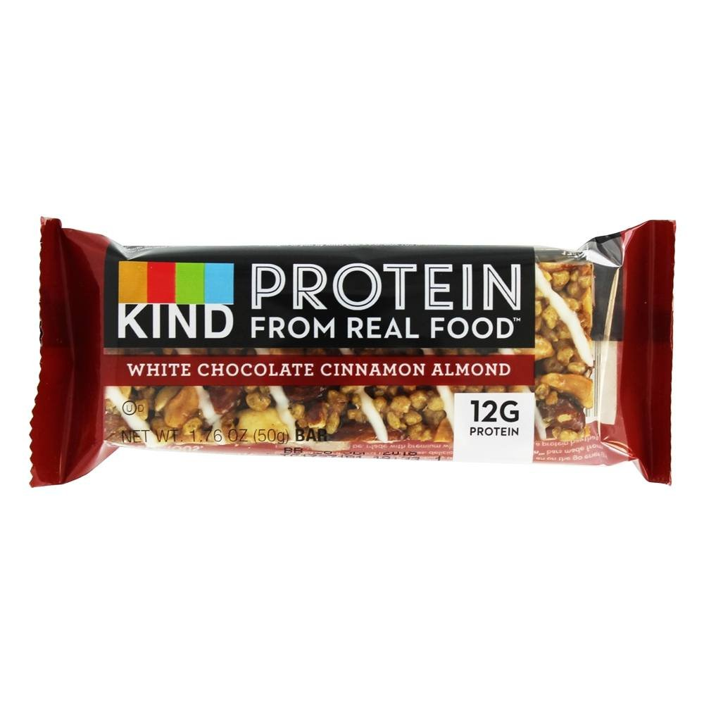 Kind Bar - Gluten Free Protein Bar White Chocolate Cinnamon Almond (Pack of 24)