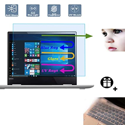 3 Pack Anti Blue Light Screen Protector for 13.3 Inches Laptop Filter Out Blue Light That Relieve Computer Eye Strain and Help You Sleep Better