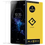 CENTAURUS XZ2 Compact Glass Screen Protector,(3 Packs) Anti-Glare Ultra-Thin Clear 9H Hardness Tempered Glass Protective…