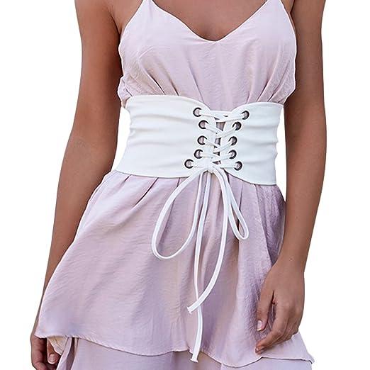 ce927e4d71 Vintage White Lace Up Corset Bandage Women s Waist Belt Shape-Making Corset  Belt Plus Size