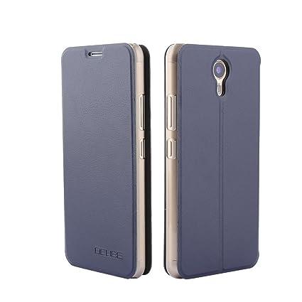 Ulefone Power 2 Funda de PU Cuero Leather Ulefone Power 2 Carcasa de Excelente Resistencia y Parachoque. Cubierta Enrrollada Perfectamente al Móvil