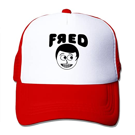Amazon.com  Beetful YouTube Fred Adjustable Cap Red (3856951690428)  Books dc3d962582c5