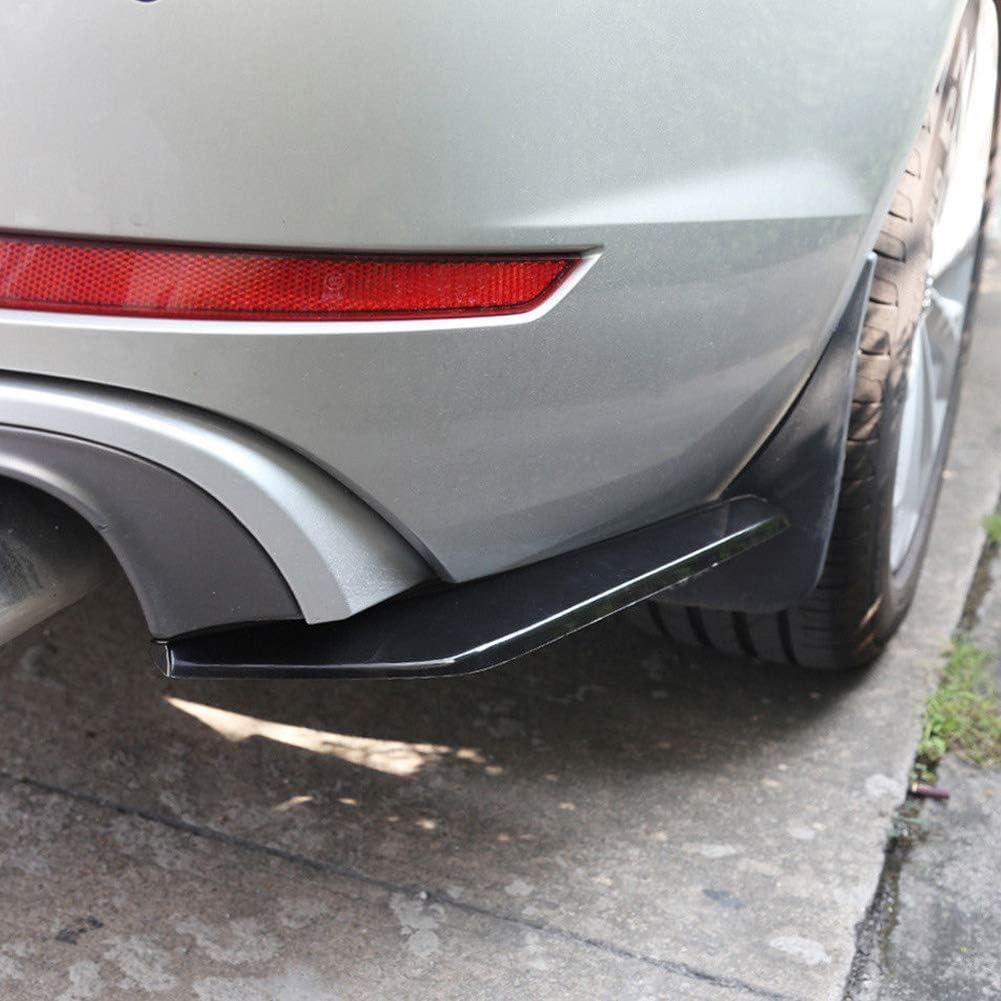 Homyl 1 St/ück Universal Hecksch/ürze Lip Diffusor Auto Hintere Sto/ßstange Spoiler Lip Splitter