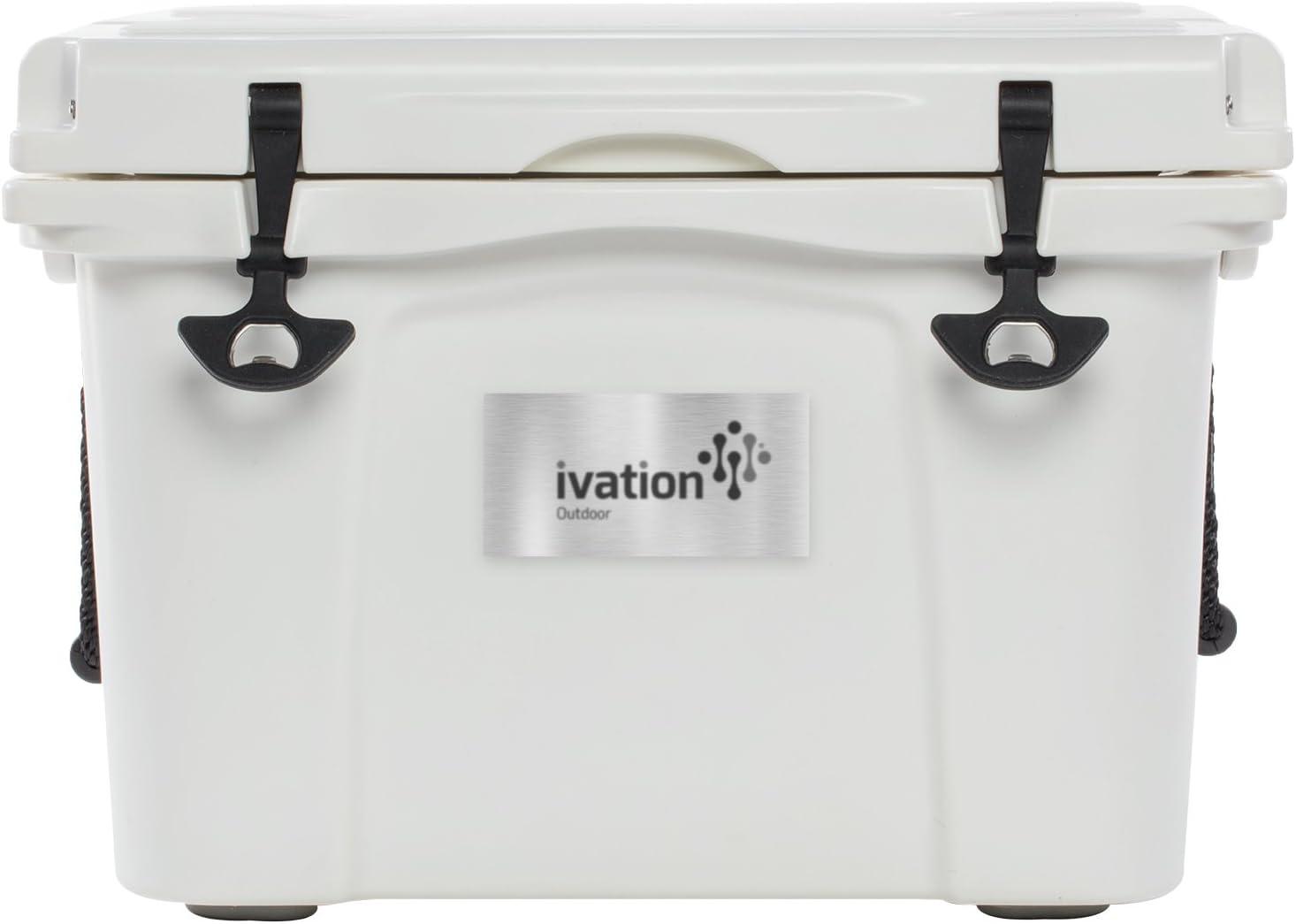 Ivation duro resistente portátil al aire libre de alimentos y ...