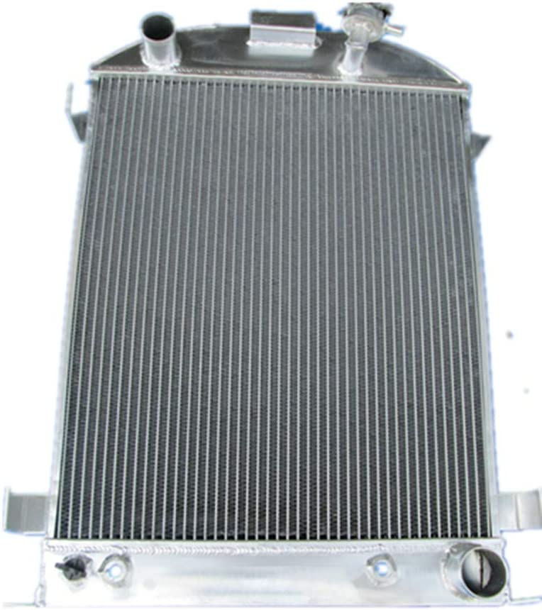 MONROE RACING U0366 3 core aluminum radiator for FORD Chopped-Ford Engine 1932