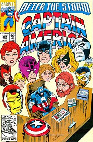 Captain America (1st Series) #401 VF/NM ; Marvel comic book