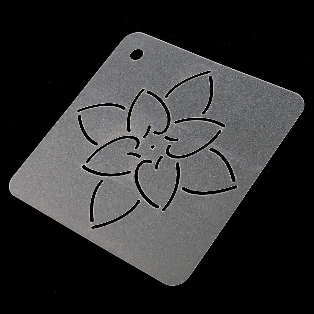 Yevison Premium Quality DIY Stencil Plastic Quilting Template Quilt Tool for Patchwork Painting 17