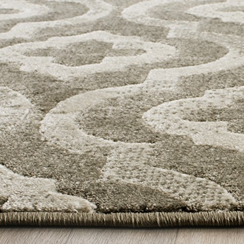 Safavieh Porcello Collection PRL7734E Grey and Ivory Area Rug (5'2