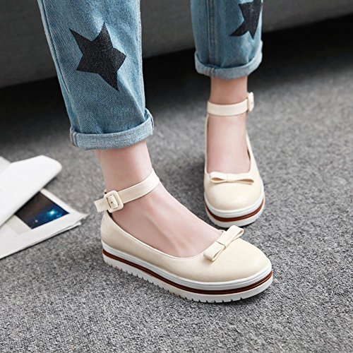 Charm Foot Womens Comfort Archi Cinturini Alla Caviglia Con Cinturino Alla Caviglia Beige