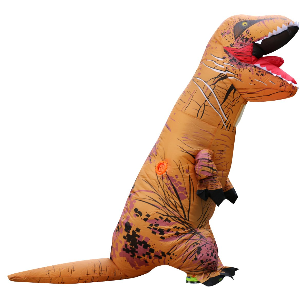 WEHOPS Inflatable T-Rex Costume For Kids Novelty Blow Up Dino Toys For Children