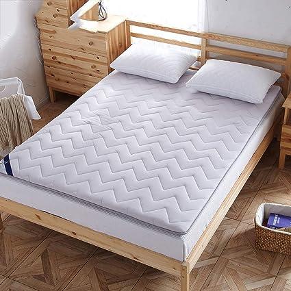 HAOPENGFEI Engrosamiento Doble colchón de a Prueba de Humedad,Confortable no cálido Olor,Dos