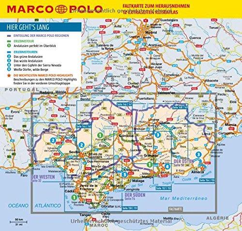 Karte Andalusien Portugal.Marco Polo Reiseführer Andalusien Reisen Mit Insider Tipps Inkl