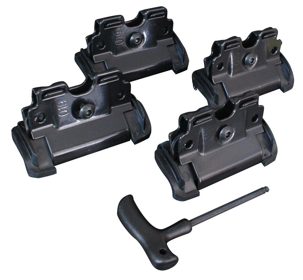 Thule 4056 - Kit de fijació n rá pido para barra XT, pack de 4 Thule GmbH 184056
