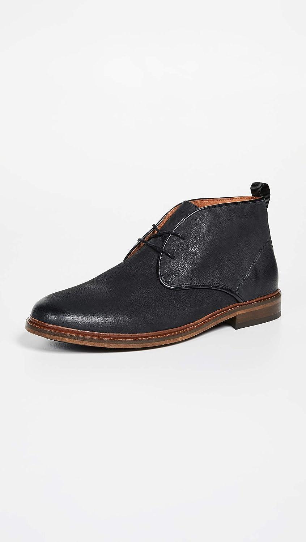 49ff13b38ef Amazon.com   Shoe the Bear Men's Dalton Leather Chukka Boots, Black ...
