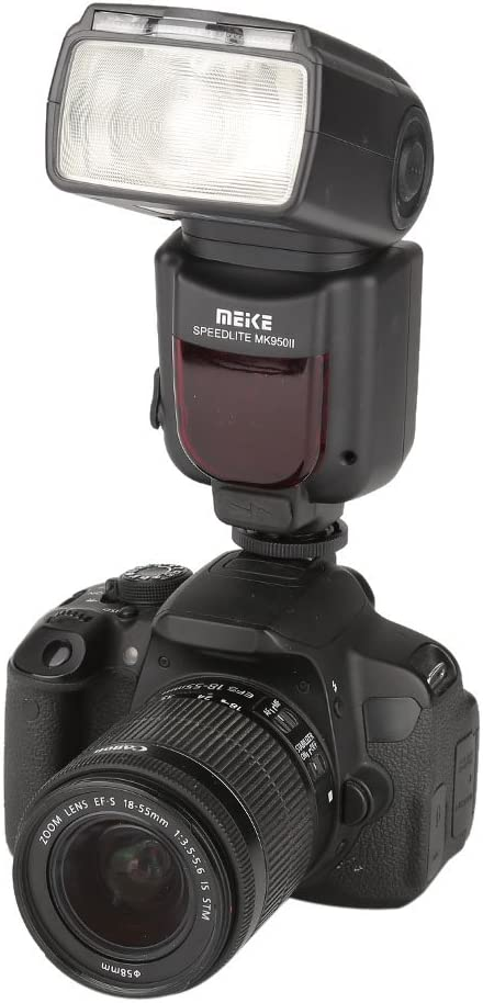 Acouto MK950II-N Hot Shoe Mount TTL Flash Speedlight with LCD Display for Nikon DSLR Camera