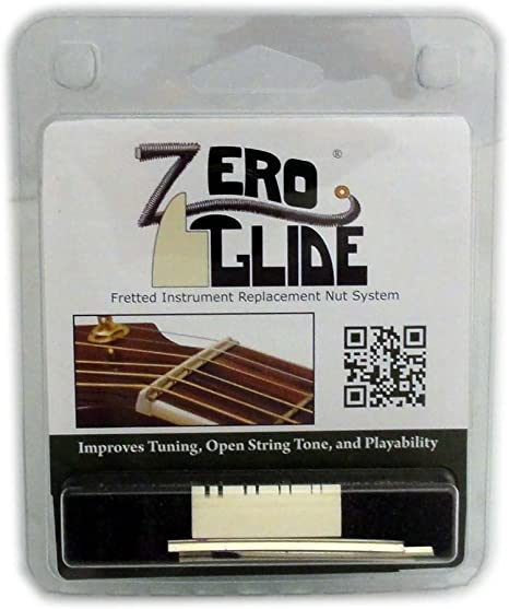 Zero Glide Slotted ZS-10 Mandolin Nut System