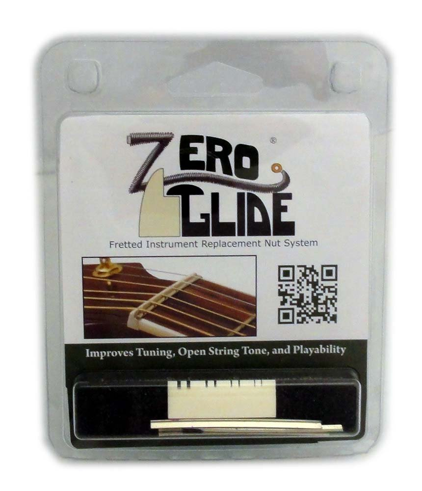 Zero Glide Slotted ZS-10 Mandolin Nut System
