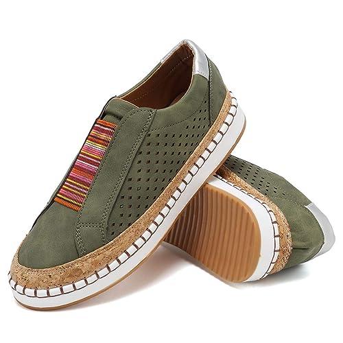 Amazon.com: GOUPSKY Zapatillas para Mujer Deslizamiento ...
