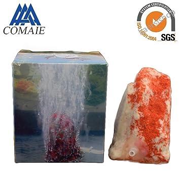Acuario Artificial Decoración Pecera Tanque Bubble Aire Piedra para Bomba de Oxígeno Accesorios Hogar Peces Tanque
