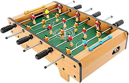 Futbolines Infantil Juguetes De Los Niños Mesa De Juego Interior Mejor Regalo For Los Niños (Color : Brown, Size : 68x39.5x21cm): Amazon.es: Hogar