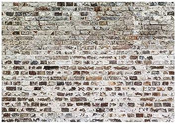 murando Fototapete Steinwand 100x70 cm Vlies Tapeten Wandtapete XXL Moderne Wanddeko Design Wand Dekoration Wohnzimmer Schlafzimmer B/üro Flur Steinoptik Stein 3d Effekt f-B-0018-a-b