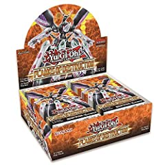 Flames of Destruction closes out the first Dueling season of the Yu-Gi-Oh! VRAINS era with a bang! This 100-card booster set will shake things up with new cards for established Deck themes, a brand-new Link Monster theme that can be played as...