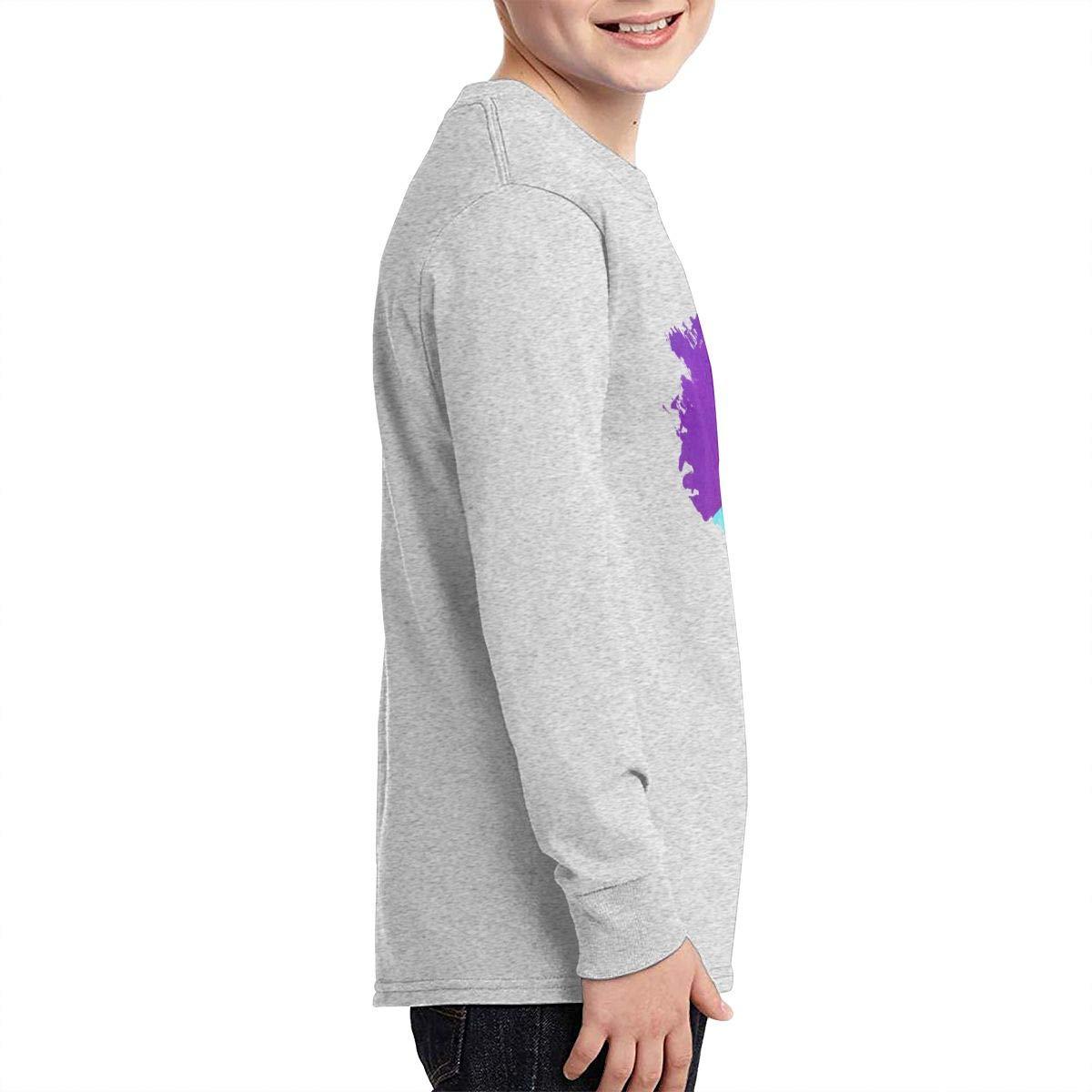 HangHisi Ninja Boys /& Girls O Neck Regular Style Tee Long Sleeve T Shirt Leisure Black