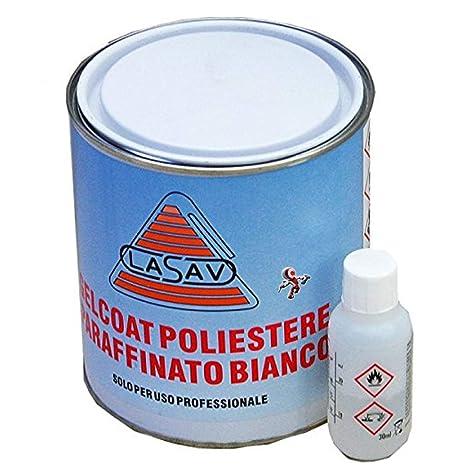 Gelcoat - Parafina para barcos de 5 kg con catalizador
