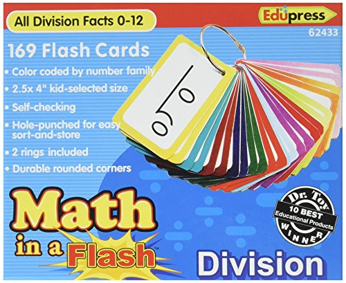 division flash card games - 8