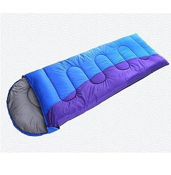 CRMM Camping Momia Saco De Dormir para Diferentes Estaciones Viaje Y Al Aire Libre Bolsa De Dormir Sucia 2 Colores - Tamaño 210*75Cm,Blue: Amazon.es: ...